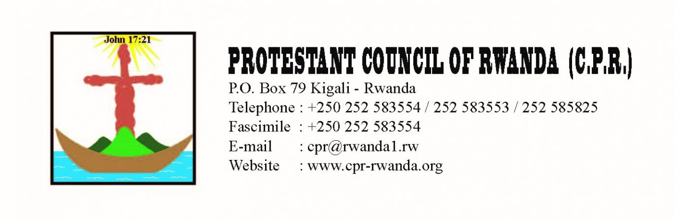 Protestant Schools in Rwanda mobilise for the Promotion of the Culture of Peace