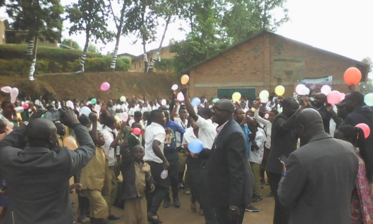 Celebration of 500 years of Reformation at Ecole Secondaire de Nyabirasi