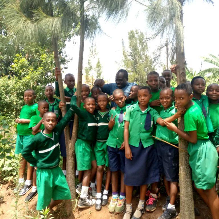 Students succeeded 100% on the national examination of Rwanda