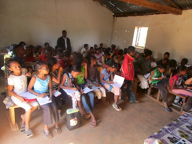 Protestant schools in Madagascar connect