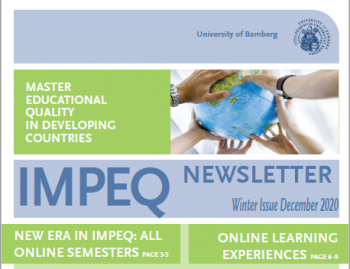 IMPEQ Newsletter Winter 2020 published