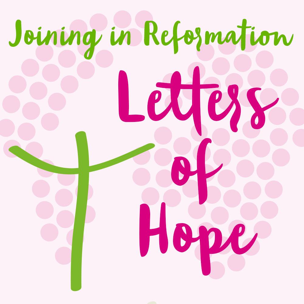 stay healthy – Letter of Hope: Council member Rev. Dr. Birgit Sendler-Koschel