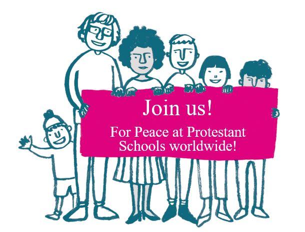 Action participative sur la paix et les conflits dans  les écoles protestantes du monde entier est en ligne